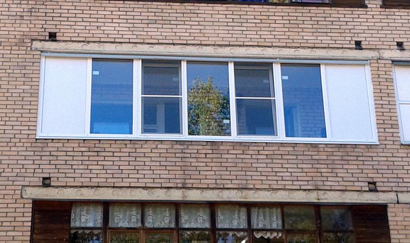 Остекление балкона длиной 3 2 м. - балконные блоки - каталог.